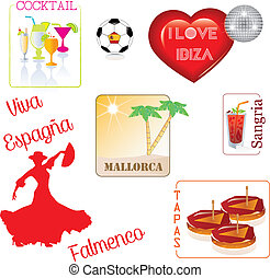 Spain- Espana- tapas- paella- - Castilla, Espagnol,...