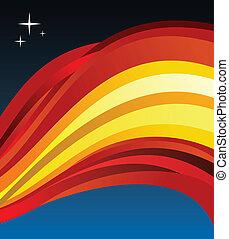 Spain flag illustration background
