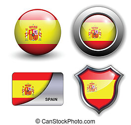 Spain icons