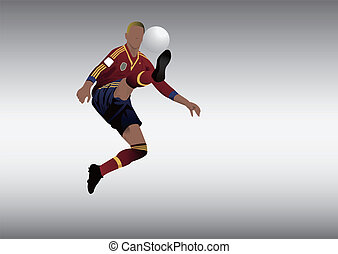 Spain soccer football player