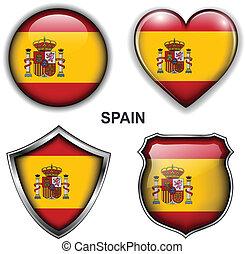 Spain, spanish  icons