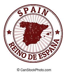 Spain stamp