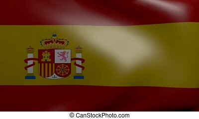 spain strong wind flag