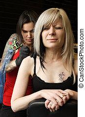 spalla, tatuaggio