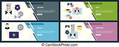 spam, bloqueando, antivirus, proteção, segurança