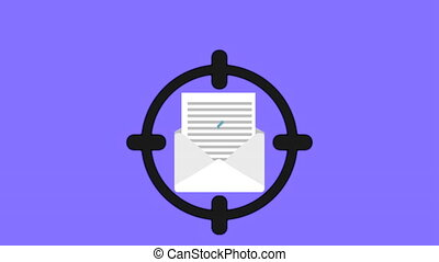 Spam icon design, Video Animation
