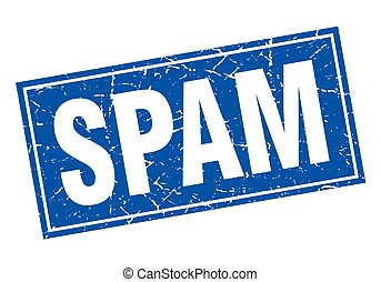 spam square stamp