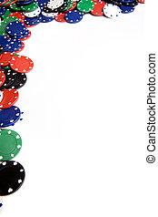 span, kasino, hintergrund