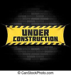 spandoek, bouwsector, black , onder