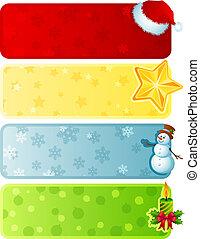 spandoek, kerstmis