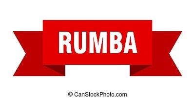 spandoek, meldingsbord, ribbon., rumba, papier, band