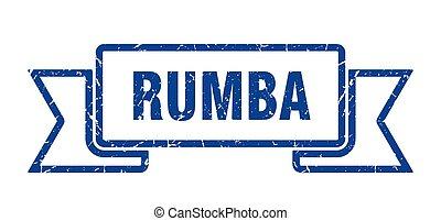 spandoek, ribbon., grunge, band, rumba, teken.