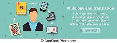 spandoek, vertaling, concept, philology, horizontaal