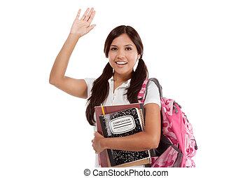 spanisch, hochschule, gruß, schueler