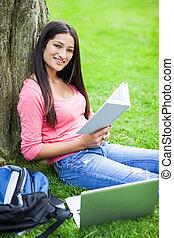 spanisch, student, studieren