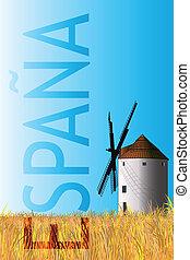 spanischer , broschüre