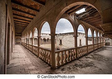 the ruins of jaral de berrio abandoned hacienda mexico -...