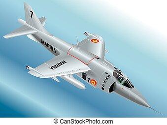Spanish AV-8S Matador Jet Fighter