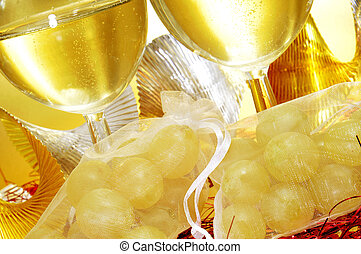 spanish cava and the twelve grapes of luck