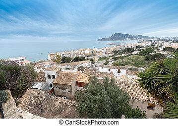 Spanish coastal resort