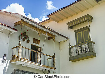 Spanish Colonial Style Balconies
