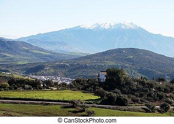 Spanish countryside, Colmenar.