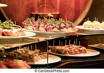 Spanish Cuisine, Barcelona, Catalonia, Spain, Europe -...