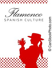 Spanish culture. Flamenco dance