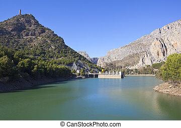 spanish dam and power station