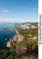 Spanish east coast at the Costa Brava