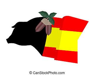 Spanish food - Creative design of spanish food