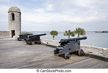 Spanish Fort in St. Augustine Florida