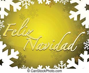Spanish - Merry christmas themed