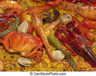 Spanish Paella Background
