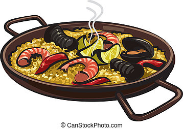 spanish paella