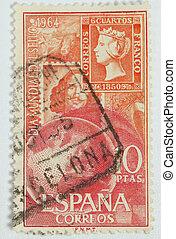 Spanish postage stamp