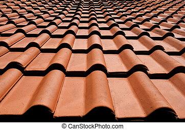 Spanish roof - Spanish tile roof.