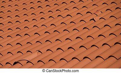Spanish roof tiles t