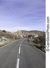 Spanish rural village