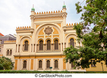 Spanish Synagogue of Prague, in Czech Republic