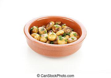 Spanish Tapas Mushrooms
