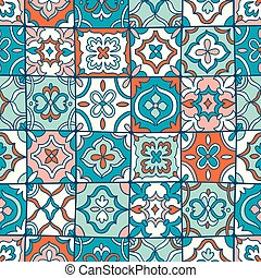 Spanish tiles pattern