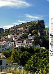 Spanish village, traditional architecture. Chulilla -...