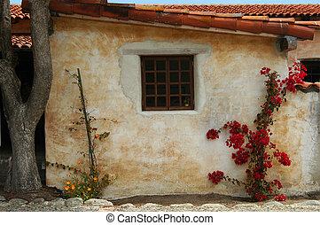 Spanish Window - A quaint Spanish setting