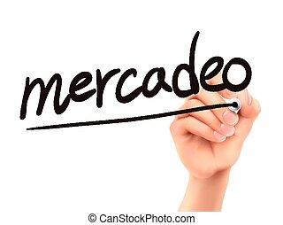 Spanish words for Marketing