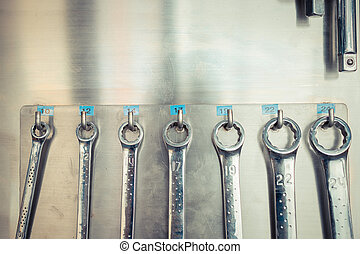 Spanners wrench tools
