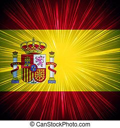 spanska flagga