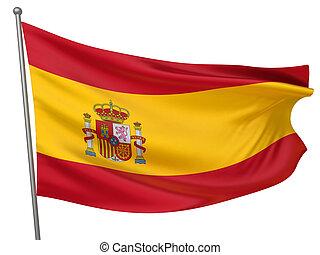 spanyolország, nemzeti lobogó