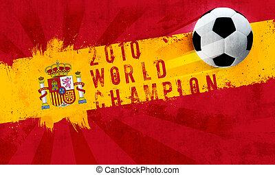 spanyolország, világ, bajnok