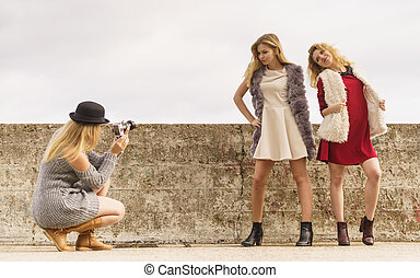 sparare, foto, modelle